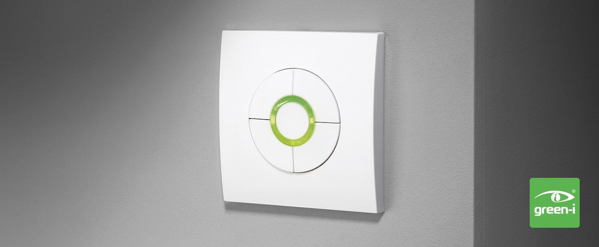 Gi2dc Wall Mounted Pir Sensors Amp Dimmers Green I