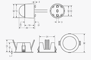 3 furthermore What Is The Symbol For A Led together with Wiring Diagram For Led High Bay Light further Emergency L  With 555 Timer in addition Emergi Lite 50 92 Wiring Diagrams. on emergency lighting wiring diagram