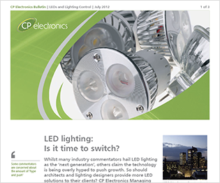 July 2012: LEDs and Lighting Control