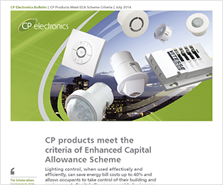 July 2014: CP Products Meet ECA Scheme Criteria