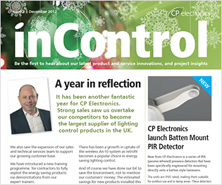December 2012: inControl issue 2 -  OEM