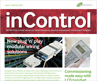 Winter 2016: inControl issue 11
